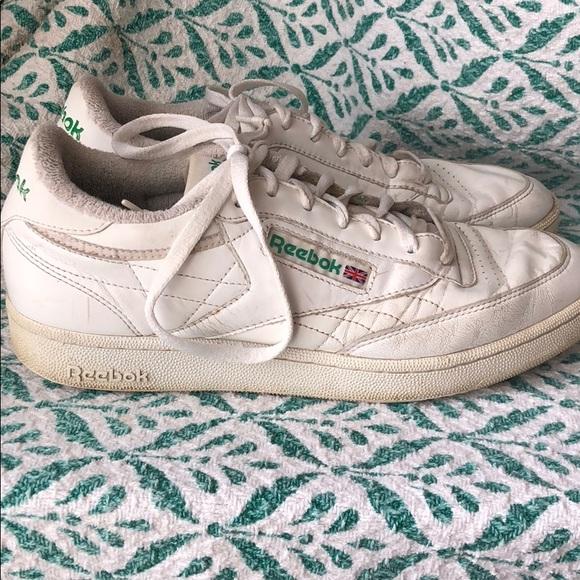 Vintage Reebok Club C 85 tennis shoes